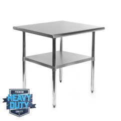Prep Tables For Kitchen How Much Does A Remodel Cost Stainless Steel Commercial Work Food Table