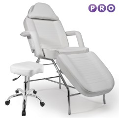 Chair Bed Stool Childrens Adirondack Salon Facial Massage Table White