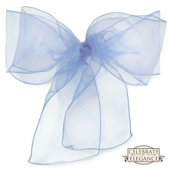 Chair Covers And Bows Ebay Office Mat Walmart 100 Organza Cover Bow Sashes Wedding Party