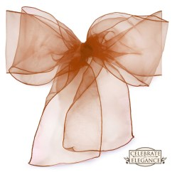 Diy Organza Chair Covers Modern High Back Wing 100 Cover Bow Sashes Wedding Party