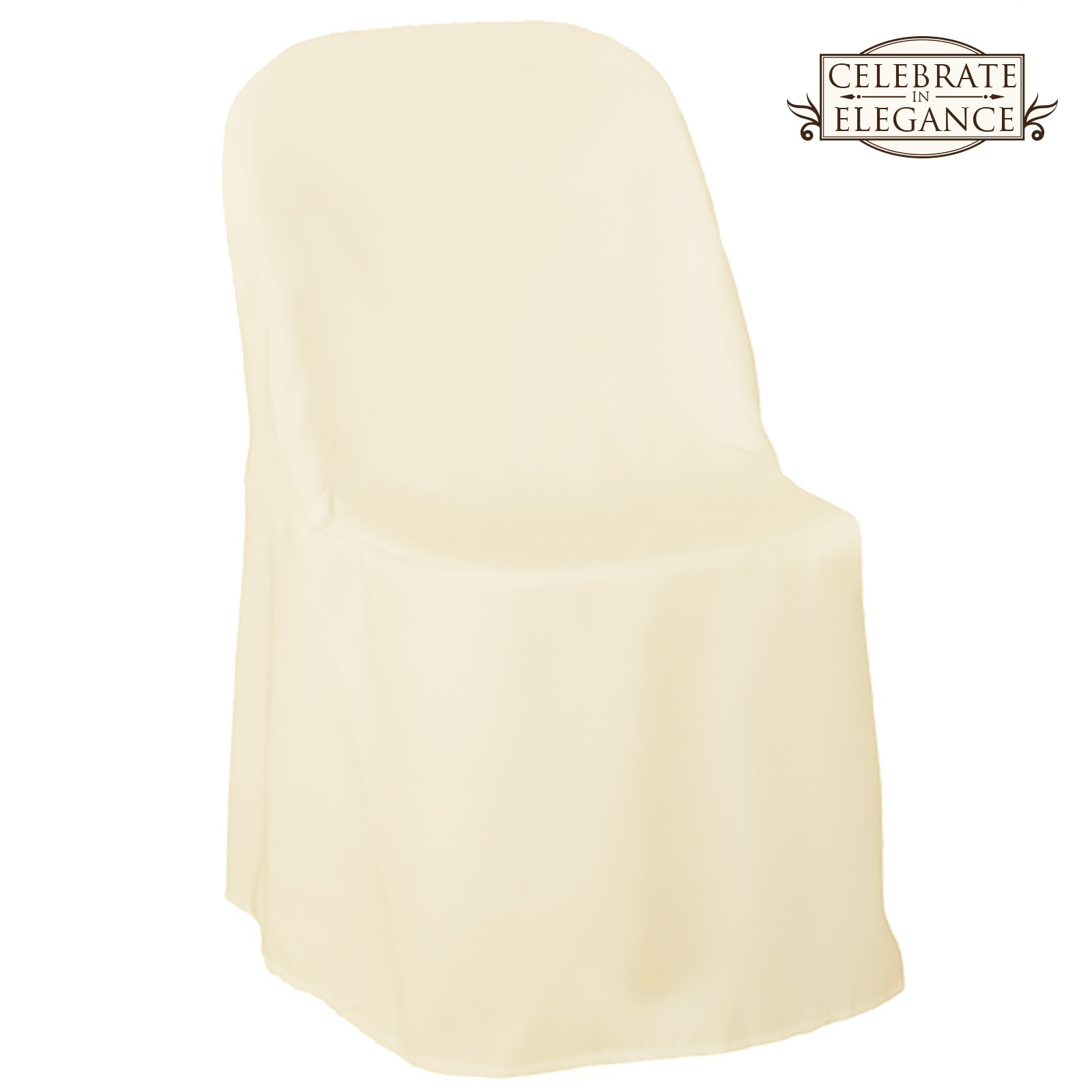 100 Polyester Folding Chair Covers Wedding Party Dcor  eBay