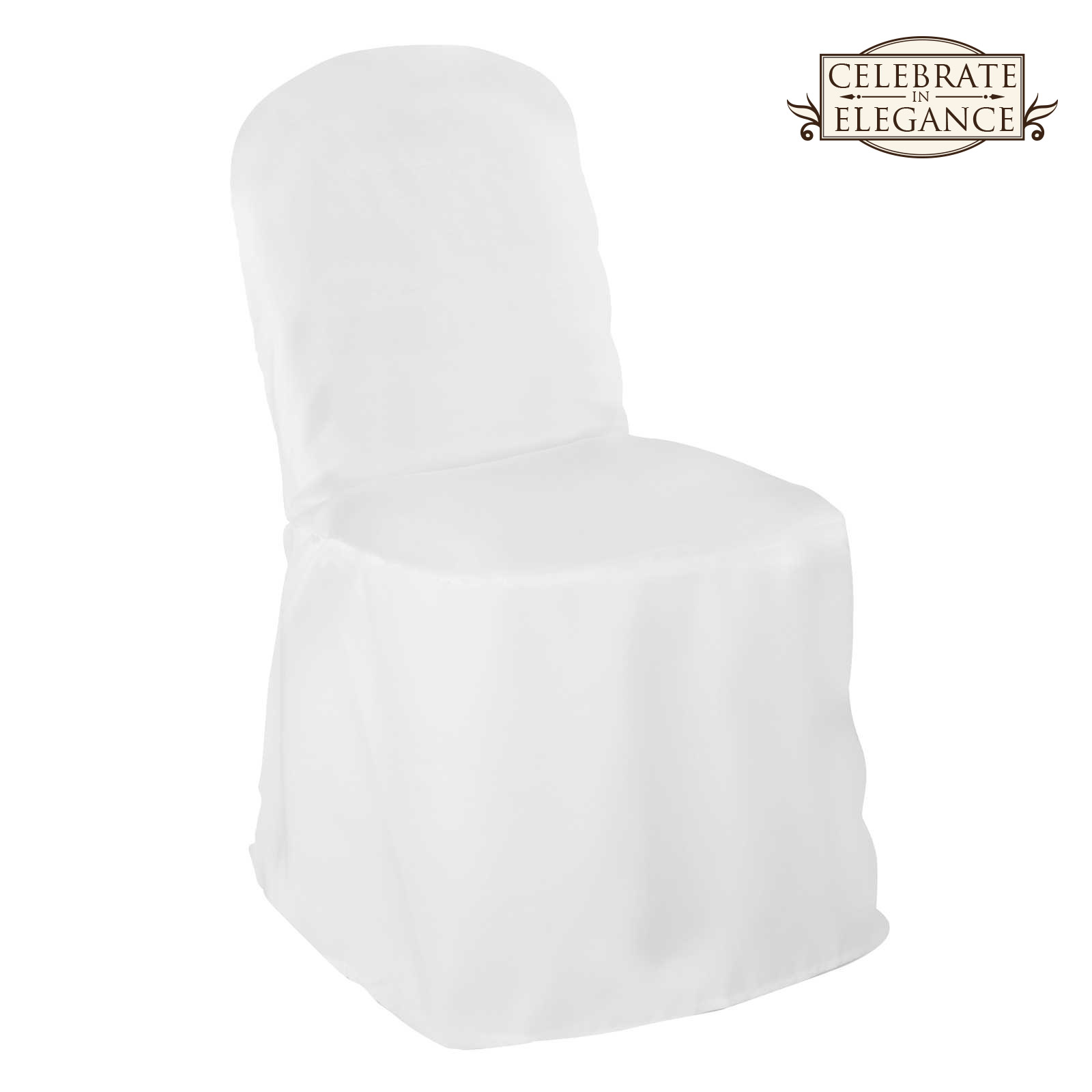 polyester banquet chair covers swing frame 10 wedding party décor ebay