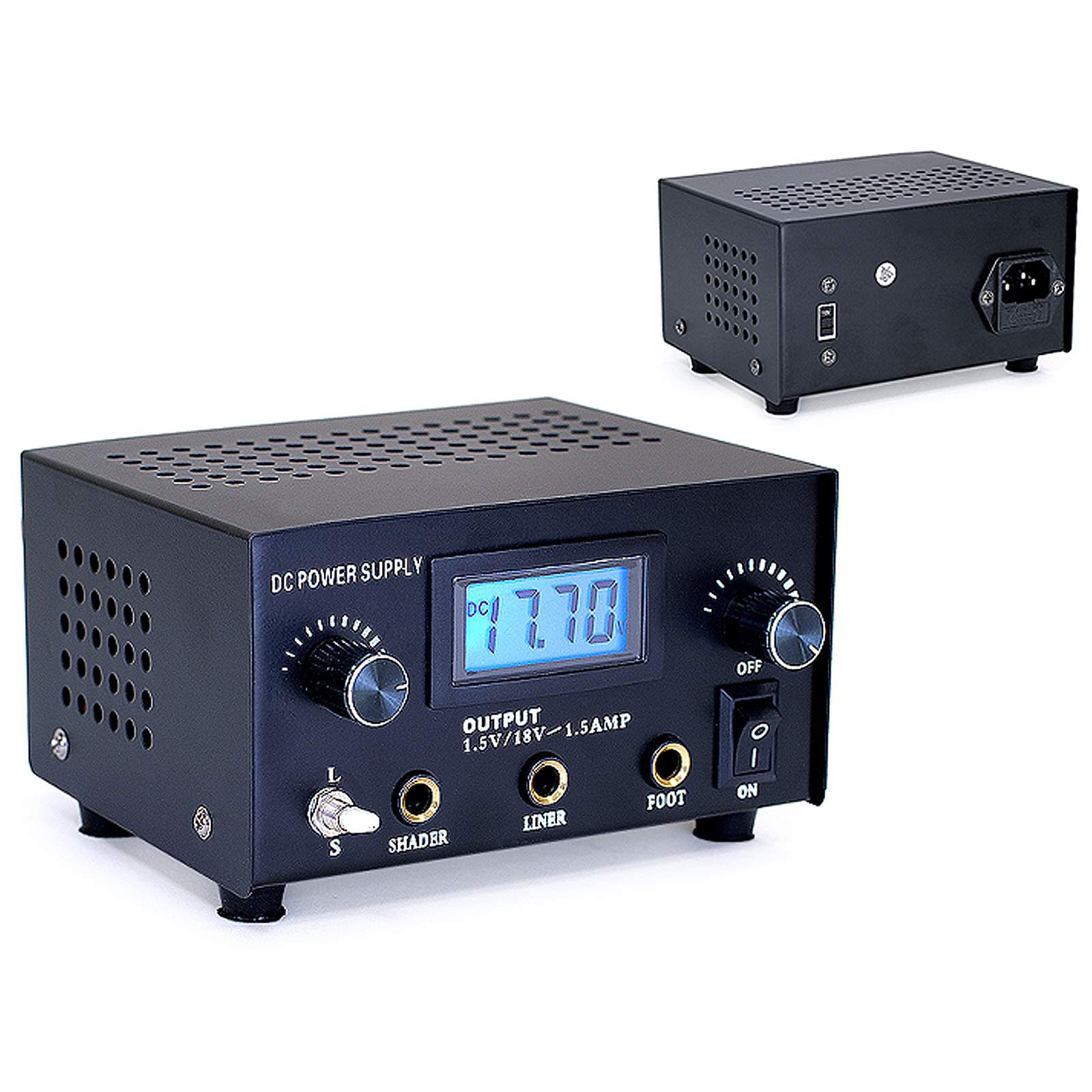 Digital Multiple Voltage Power Supply