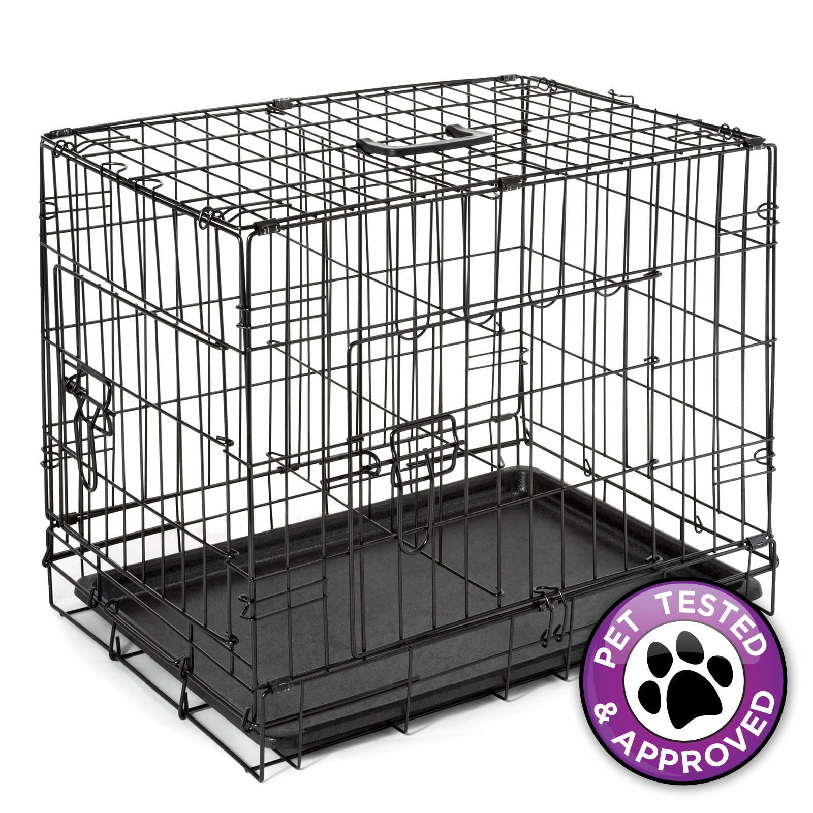 20 Dog Cage Crate Folding Kennel with Divider Pet Puppy