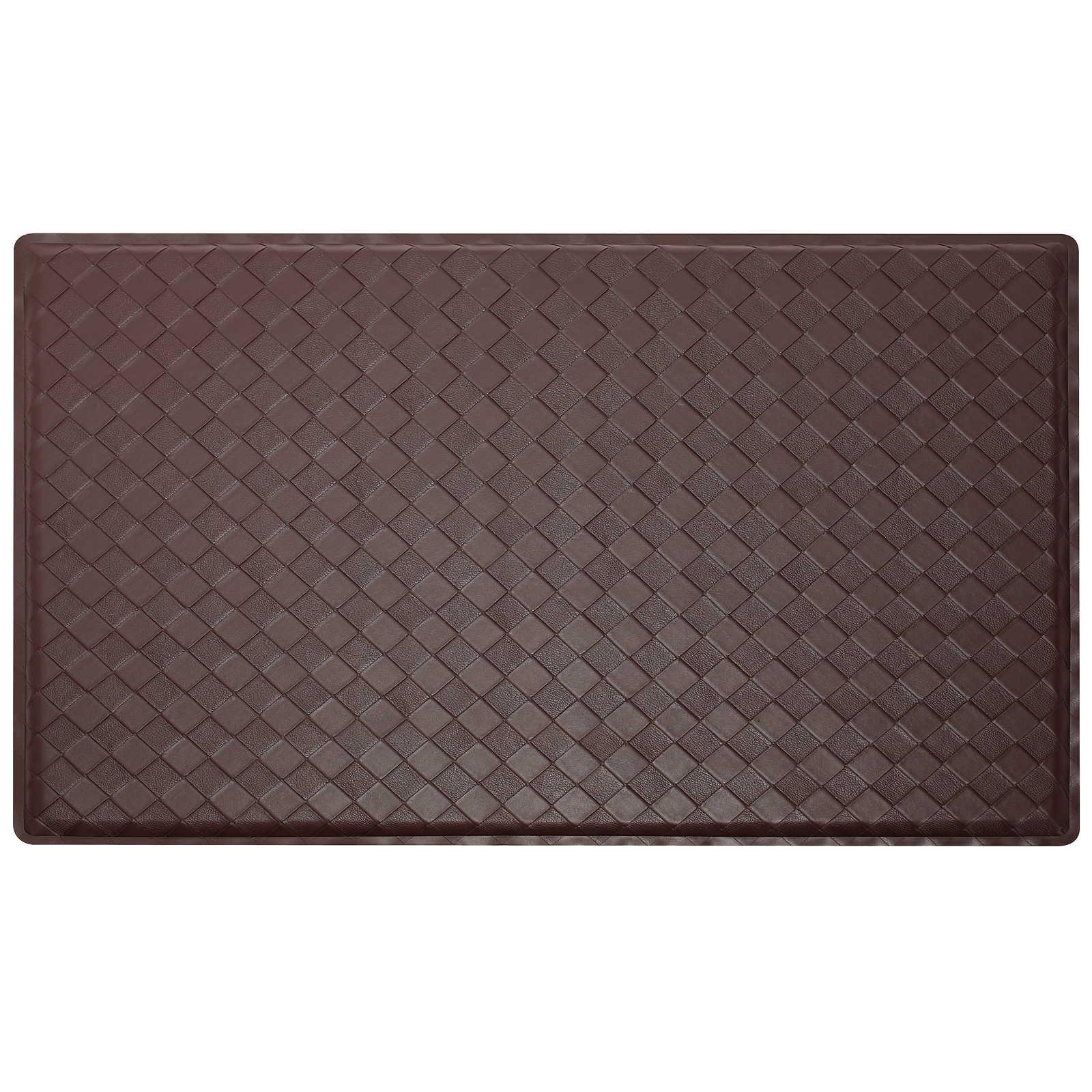 2 x 3 Modern AntiFatigue Kitchen Floor Mat Rug  Basket Weave  eBay