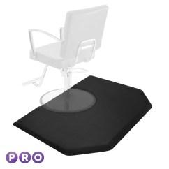 Chair Floor Mat Covers From Wayfair 4 39 X 5 Hexagonal Anti Fatigue Salon Barber