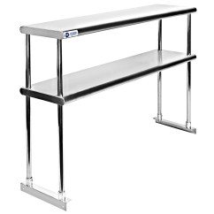 Prep Tables For Kitchen Cheap Gadgets Stainless Steel Commercial Table With Double