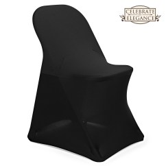 Black Spandex Chair Covers Amazon Bed Bath And Beyond Chairs 10 Folding Wedding Party Décor Ebay