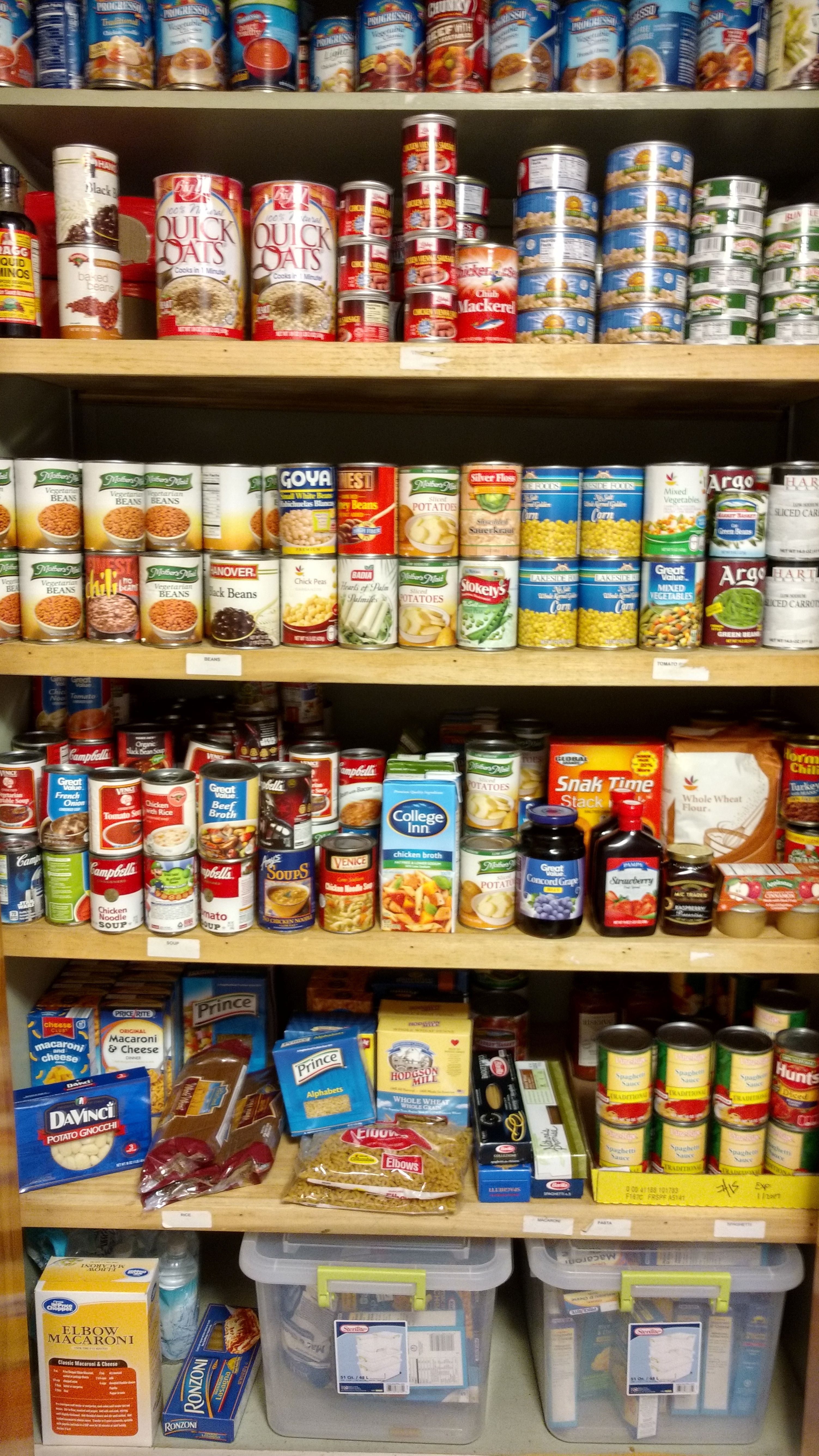 Bedford County Food Pantry