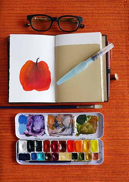 Gouache Pans : gouache, Rewettable, Gouache, Brand?, WetCanvas:, Online, Living, Artists