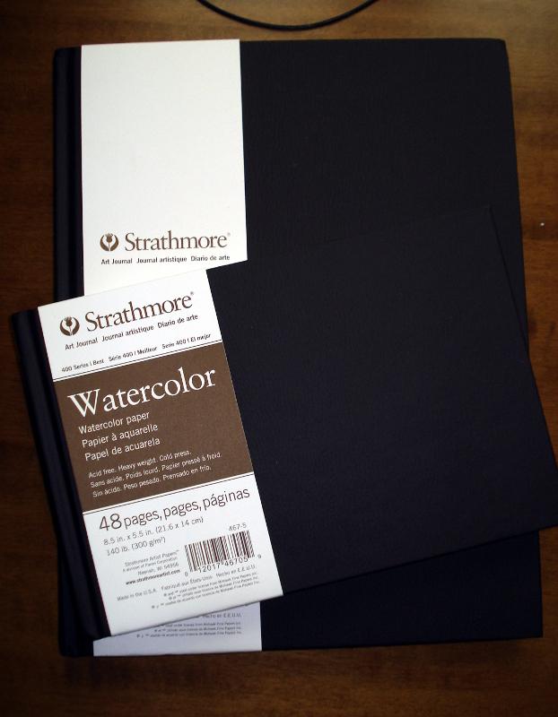 Best Watercolor Sketchbook : watercolor, sketchbook, Review:, Strathmore, Series, Watercolour, 300gsm, Paper, Sketchbooks, WetCanvas:, Online, Living, Artists