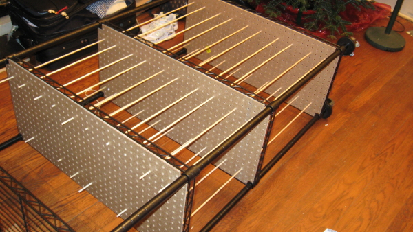 art storage rack for painters easy to
