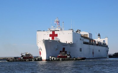 Hospital Ship USNS Comfort Deploying – Volunteer Now!