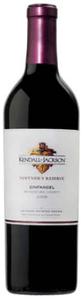 Kendall Jackson Vintner's Reserve Zinfandel 2008, Mendocino Bottle