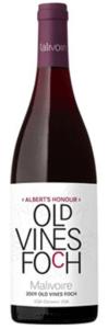 Malivoire Albert's Honour Old Vines Foch 2009, VQA Ontario Bottle