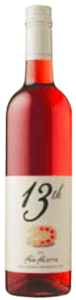 13th Street Pink Palette Rosé 2011, VQA Niagara Peninsula Bottle