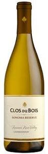 Clos Du Bois Sonoma Reserve Chardonnay 2010, Russian River Valley, Sonoma County Bottle