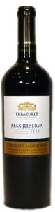 Errazuriz Max Reserva Cabernet Sauvignon 2010, Aconcagua Valley Bottle
