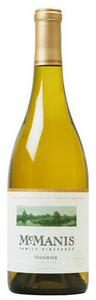 Mcmanis Family Vineyards Viognier 2011, California Bottle