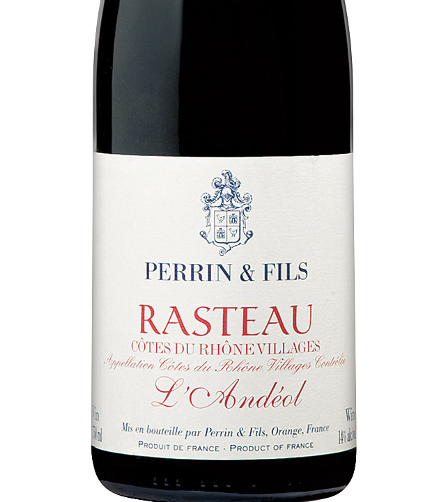 Perrin & Fils L'andéol Rasteau 2008, Ac Côtes Du Rhone ...