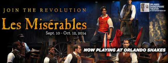 "Spotlight: ""Les Miserables"" at Orlando Shakespeare Theater"