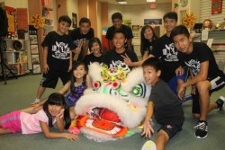 Lion dancing is among the programs the center offers. Photo by Amy Green