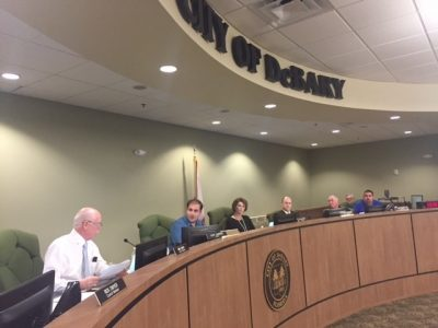 DeBary City Council votes to sue Mayor Clint Johnson over public records request. Photo: Catherine Welch