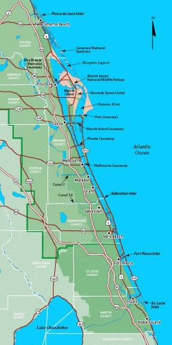 Indian River Florida Map.Broken Lagoon Fish Kill Leaves Many To Wonder Whether Indian River