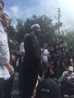 Imam Muhammad Musri urges the public not to rush to judgment based on the shooter's religious affiliation on Sunday, June 12