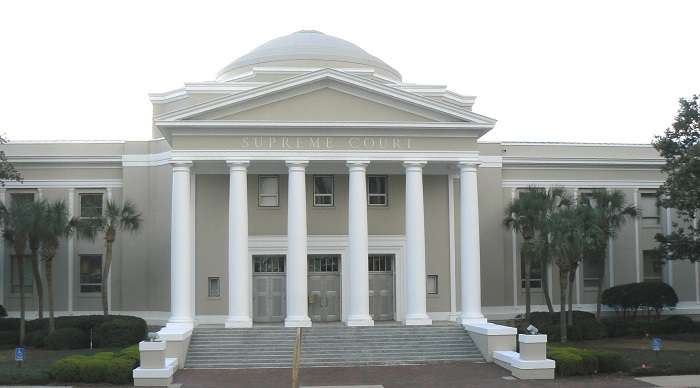 Image: Florida Supreme Court building in Tallahassee