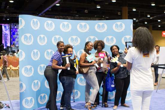 Photo: Allstate Tom Joyner Family Reunion.
