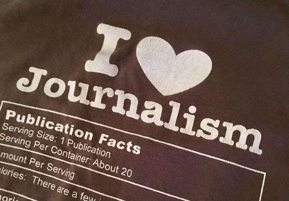 UCF journalism professor Rick Brunson got a shocking response to this t-shirt. Image: Rick Brunson