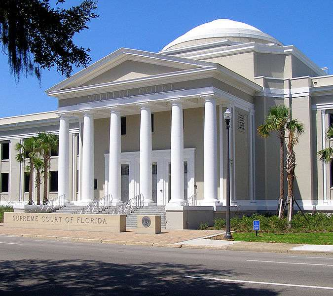 Florida Supreme Court Building. Photo: Wikimedia Commons