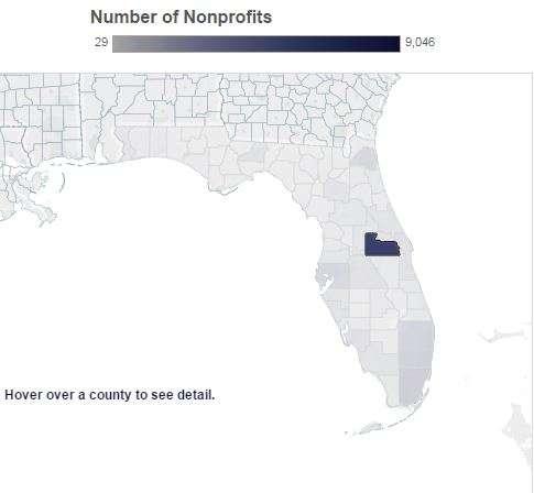 The study finds that Florida now has 83,000 nonprofit organizations. Photo: Florida Nonprofit Alliance.