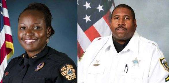 Orlando police Lt. Debra Clayton and Deputy Norman Lewis were killed in January 2017 in the line of duty. Photo: OPD/OCSO.
