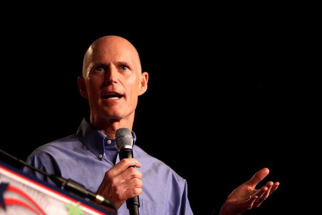 Gov. Rick Scott asked about the number of children and services that were available to them in the letter. Photo: Flickr Creative Commons