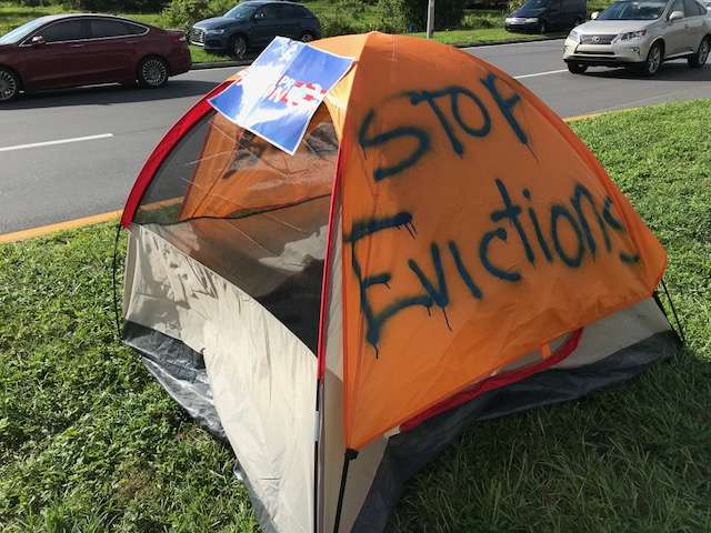 Almost 590 families could be homeless tomorrow when FEMA funding ends. Photo: Danielle Prieur