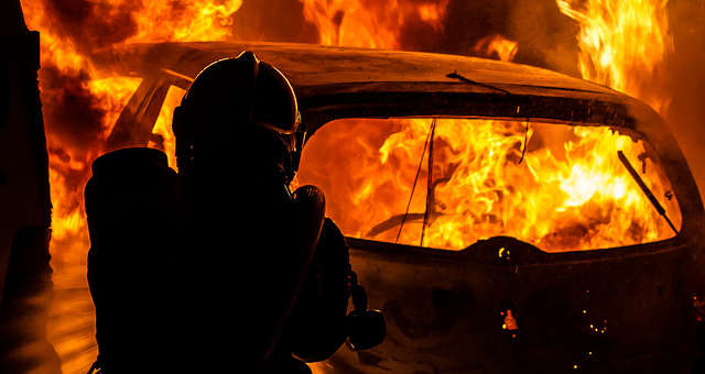 Firefighters can use kits to clean off their gear after responding to a fire. Photo: Flickr Creative Commons