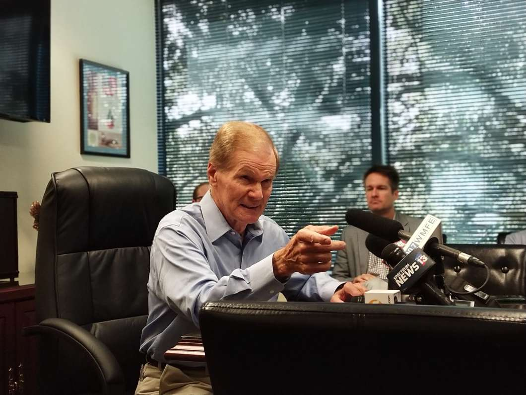 Bill Nelson has introduced a bill that would allow doctors at VA hospitals to write prescriptions for medical marijuana. Photo: Brittany