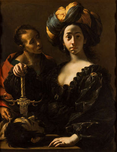 Image: 'Judith with the Head of Holofernes,' painted by Francesco Cairo, circa 1633. Photo courtesy of the John and Mable Ringling Museum of Art and Cornell Fine Arts Museum