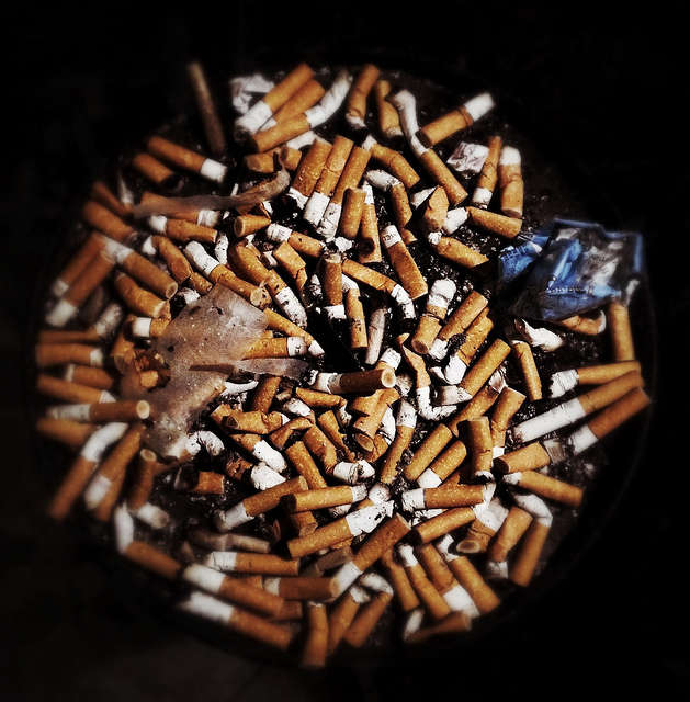If passed, smokers could face fines if caught lighting up on the beach. Photo: Flickr Creative Commons