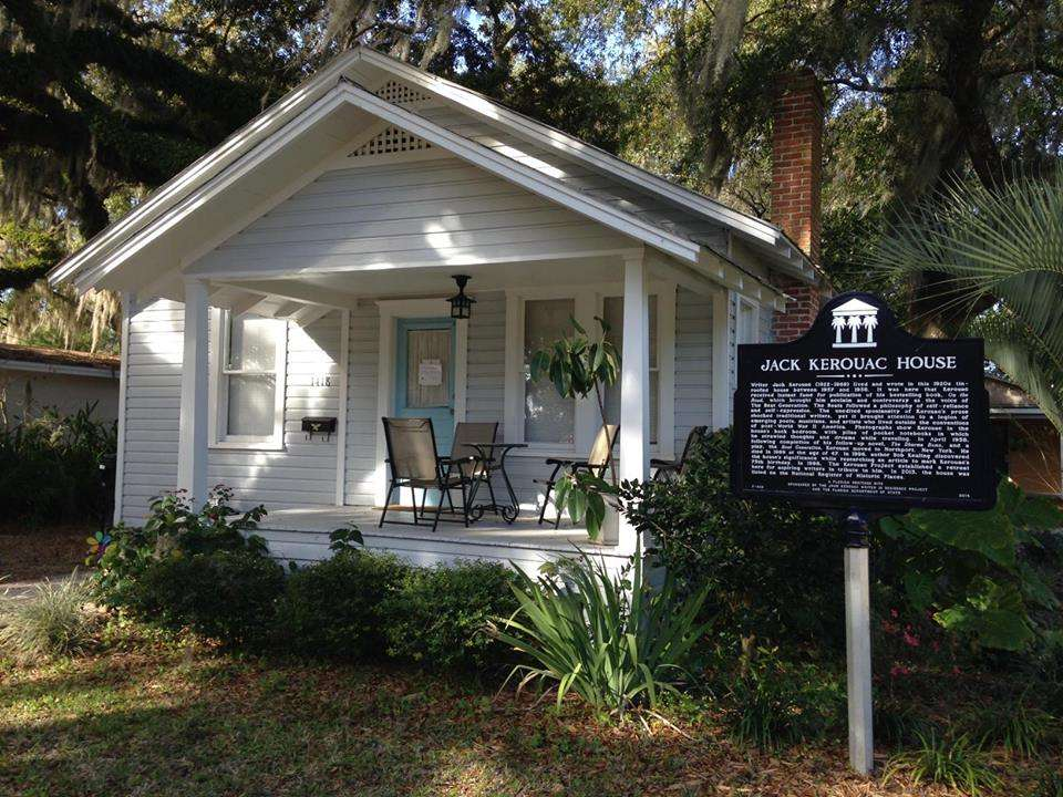 Photo of Kerouac House courtesy of kerouacproject.org