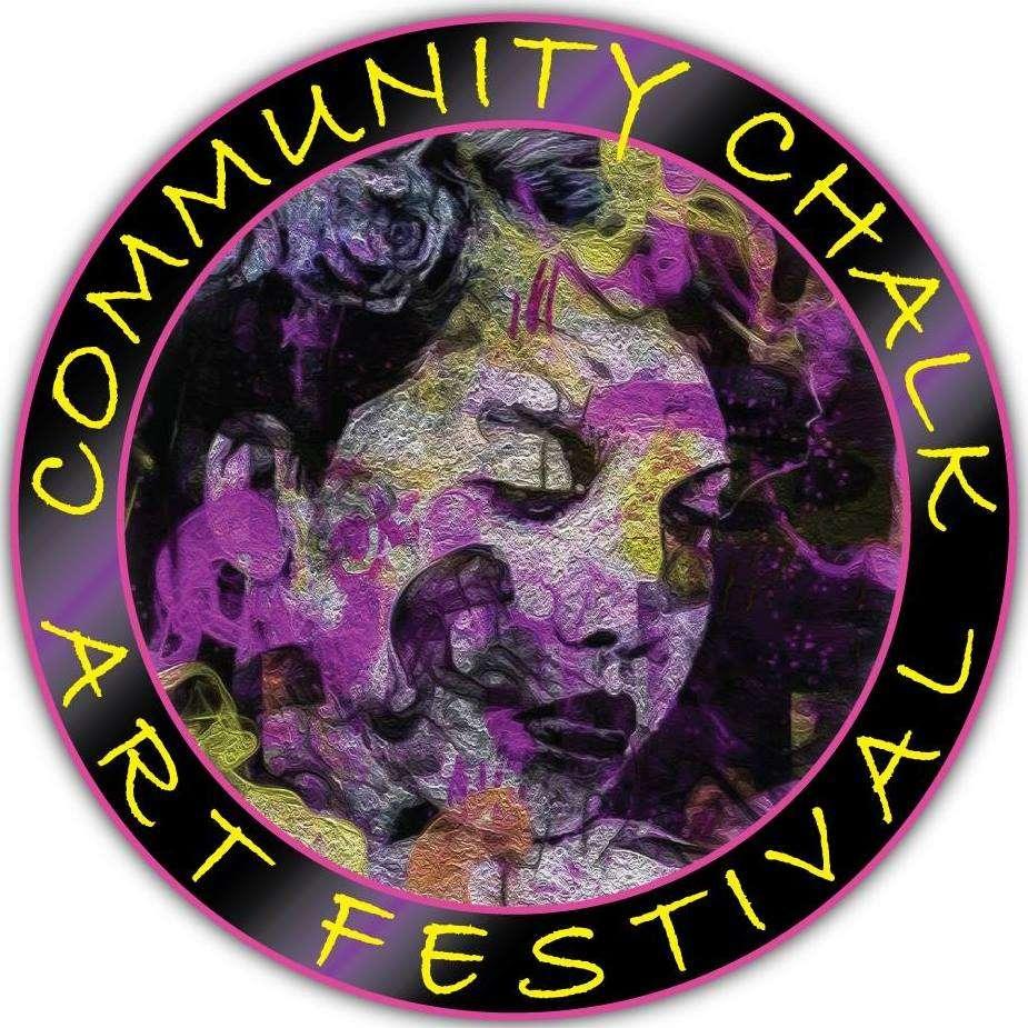 Community Chalk Art Festival logo courtesy of Gateway Arts Orlando's Facebook page