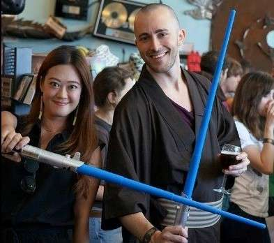 "Photo from a past ""May the 4th Be With You"" event from the Audubon Park Garden District website. Image credit: TipsoPhoto"