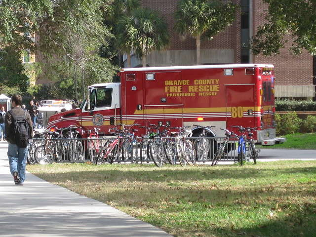 Demings said Fitzgerald had thirty six years of experience in the Orange County Fire Rescue. Photo: Flickr Creative Commons