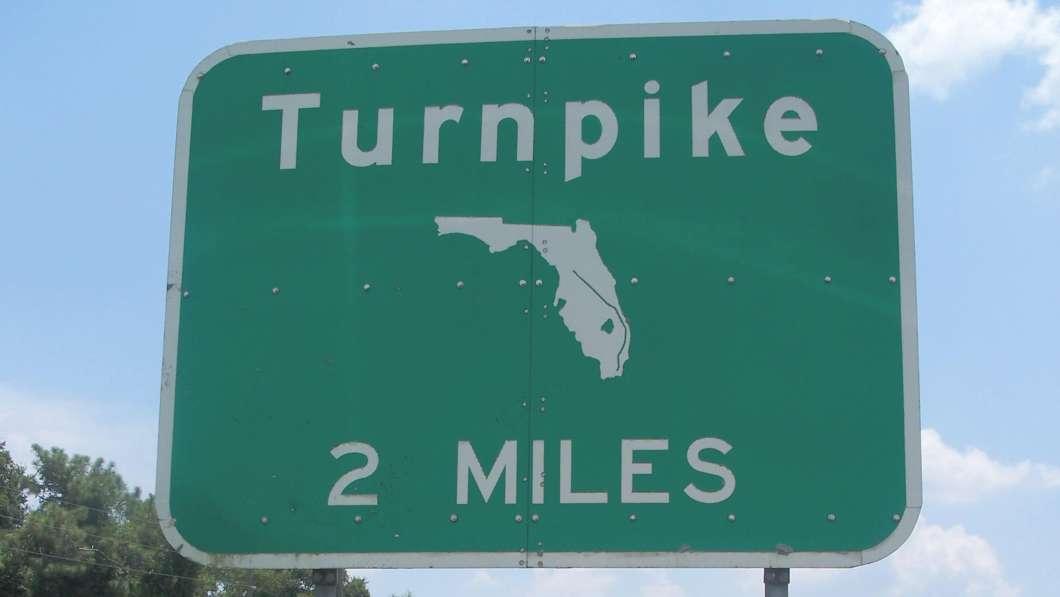 FL Turnpike Sign