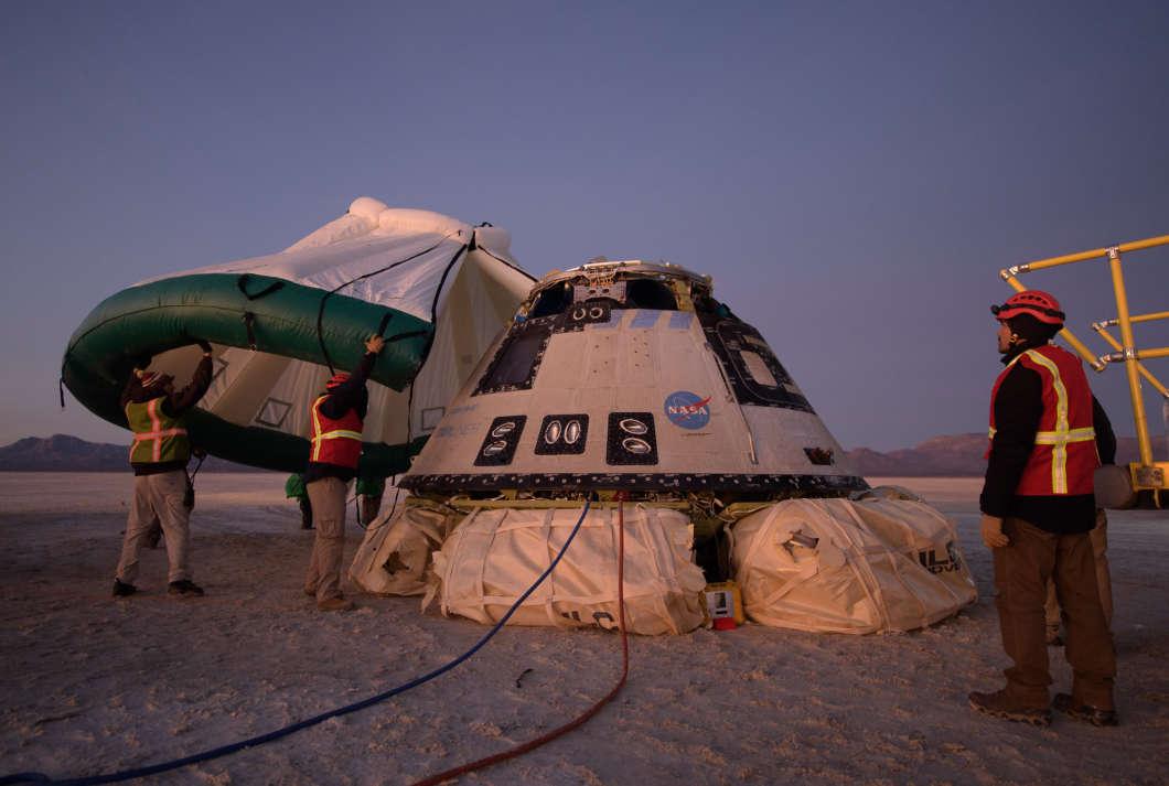 NASA, Boeing To Investigate December Spacecraft Software Glitch