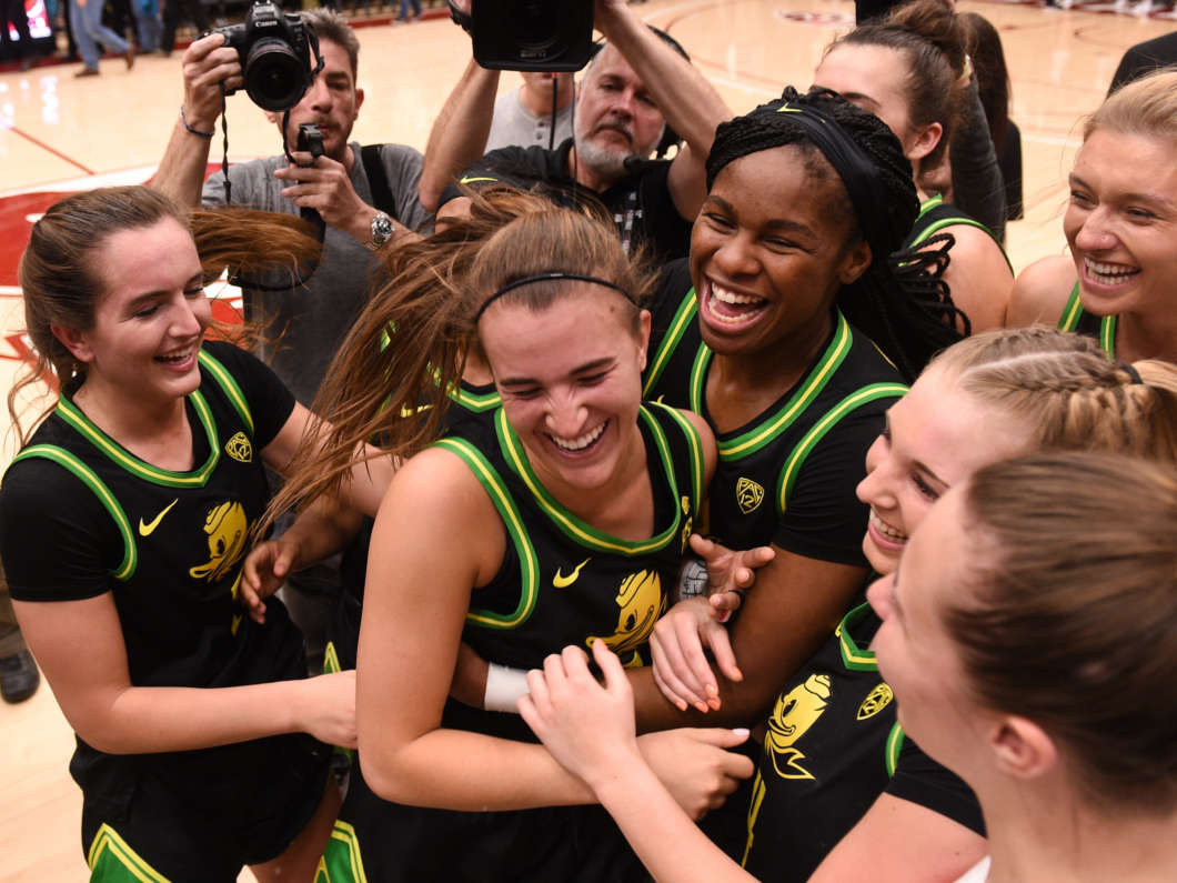Kobe Bryant's apprentice, Sabrina Ionescu, makes history after her memorial