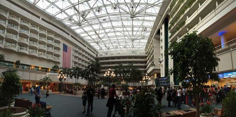 Orlando International Airport photo by Paulo O via Creative Commons (CC by 2.0)