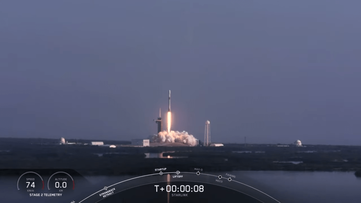 SpaceX launches 12th Starlink mission, touts 100 Mbps download speeds